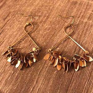 Jewelry - Gold Leaf Earrings